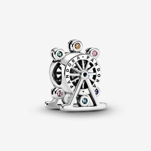 Pandora  Colorful Ferris Wheel Charm